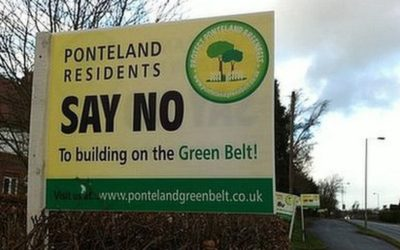 Ponteland Garden Village Rejected by Government