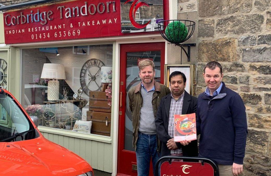 Corbridge Tandoori Entered for Tiffin Cup