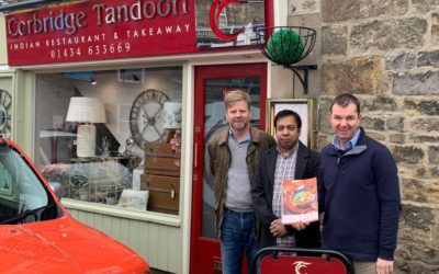 Corbridge Tandoori Entered for Tiffin Cup