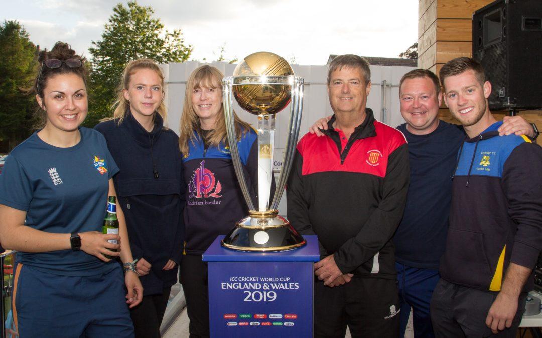 Cricket World Cup in Corbridge