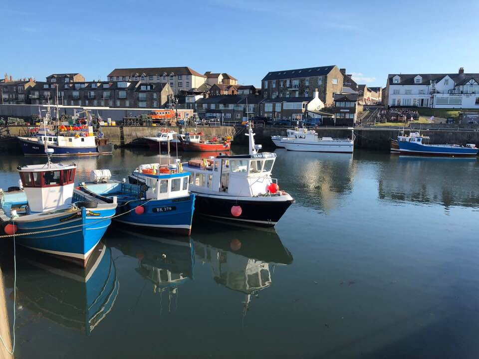 Seahouses Pier