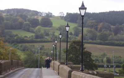 Heritage Lamp Posts on Corbridge Bridge