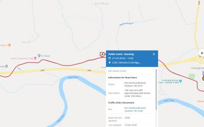 Road Closure – Sunday 27/10/19