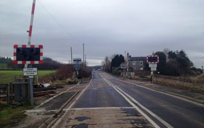 Dilston Rail Crossing – Road and Footpath