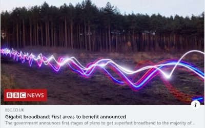 Northumberland Front of Queue for Gigabit Broadband